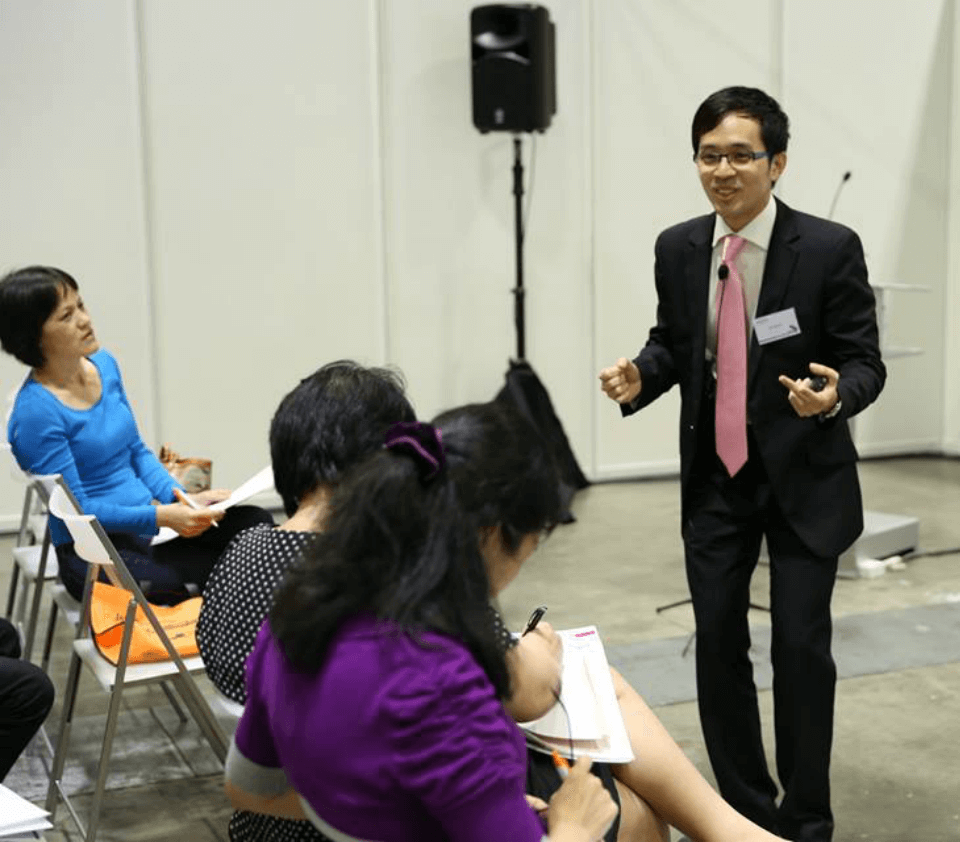 Charismatic Leadership Training - Jacky Lim