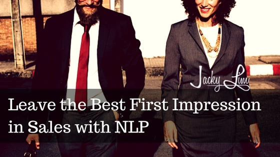 Leave the Best First Impression in Sales with NLP